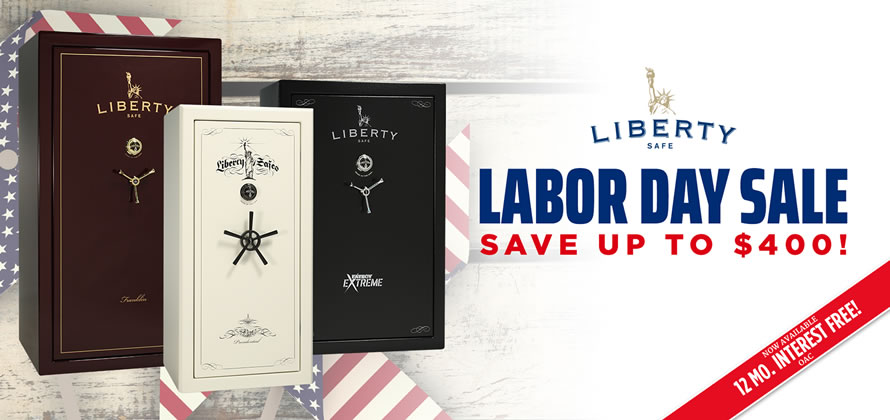 Liberty Safe Labor Day Rebate